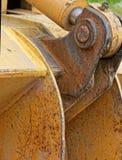 Espessura do metal da cubeta Foto de Stock