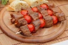 Espetos da carne Fotos de Stock