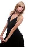 espiègle modèle blond Photos libres de droits