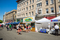 Espi Filipino food stand at the Dragon Festival Stock Image