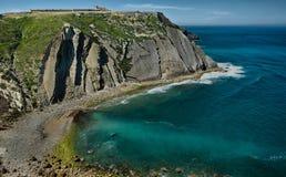 Espichel cape cliffs and Sanctuary Stock Images