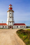 The Espichel Cape lighthouse Royalty Free Stock Photography