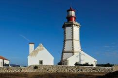 Espichel Cape Lighthouse, Sesimbra, Portugal. 18th century Espichel Cape Lighthouse in Sesimbra, Portugal Stock Image