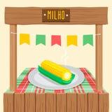 Espiga de milho - Festa Junina, fest brailian de junho Fotos de Stock
