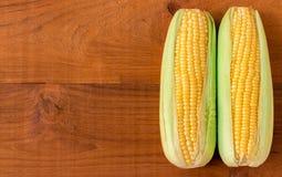 Espiga de milho madura Imagens de Stock