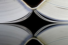 Espina dorsal de un libro Fotos de archivo