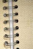 Espina dorsal del alambre de un libro fotografía de archivo libre de regalías