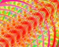 Espina dorsal del fractal Fotografía de archivo