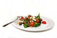 Espinaca y ensalada de Orzo Foto de archivo