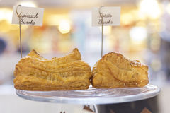 Espinaca y patata Bureka imagen de archivo