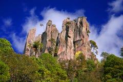 Espinazo del Diablo Berg Arkivbilder