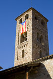 Espinelves church, Spain Royalty Free Stock Images