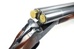 Espingarda com munição Foto de Stock Royalty Free