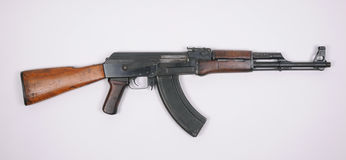 Espingarda de assalto de AK47 fotografia de stock
