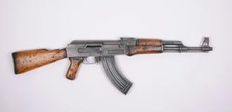Espingarda de assalto norte-coreana. Kalashnikov. Foto de Stock