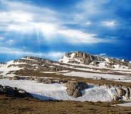Espinha dorsal da montanha Imagem de Stock Royalty Free