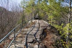 Espinha dorsal Ridge Trail imagem de stock