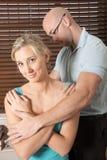 Espinha e parte traseira pacientes da massagem do quiroprático Foto de Stock Royalty Free