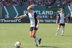 Espinhos de Portland contra Seattle Imagem de Stock Royalty Free