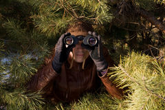 Espion photo stock