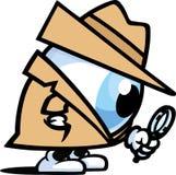 Espion d'oeil Images libres de droits