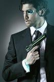 Espion de cyborg Photographie stock libre de droits