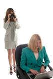 Espionaje corporativo 1 Foto de archivo libre de regalías