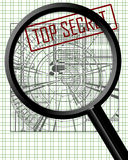 Espionnage industriel illustration libre de droits