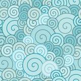 Espirais azuis Ilustração do Vetor