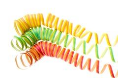 Espirais coloridas Fotos de Stock