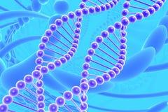 Espirais do ADN ilustração royalty free