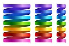 Espirais multicoloridos do arco-íris Imagem de Stock Royalty Free