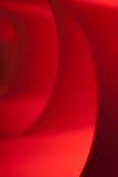 Espirais no vermelho Imagens de Stock