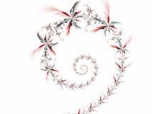 Espiral 1 de la flor Fotografía de archivo libre de regalías