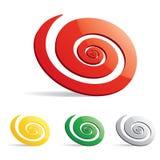 Espiral Foto de Stock Royalty Free