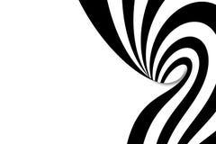 Espiral abstracto stock de ilustración