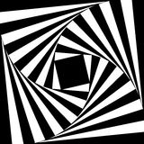 Espiral abstracto del vector Foto de archivo