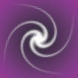 Espiral abstracto del vector Fotos de archivo