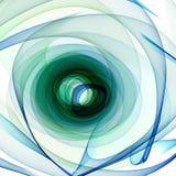 Espiral abstrata ilustração stock