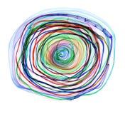 Espiral abstrata ilustração royalty free