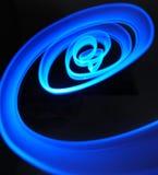 Espiral azul Imagenes de archivo