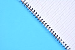 Espiral azul - límite Fotografía de archivo libre de regalías