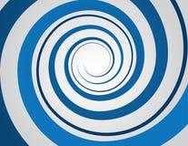 Azul espiral Imágenes de archivo libres de regalías