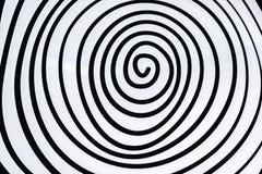 Espiral blanco simple imagenes de archivo
