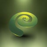 Espiral brilhante abstrata Imagens de Stock Royalty Free