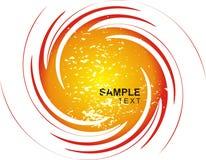 Espiral brilhante de Grunge Imagem de Stock