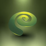 Espiral brillante abstracto Imágenes de archivo libres de regalías