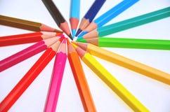 Espiral coloreado Imagenes de archivo
