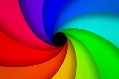 Espiral colorido Foto de archivo libre de regalías