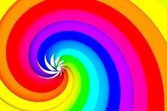 Espiral colorido Imagenes de archivo